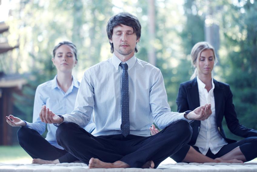 Actifs en méditation de Pleine Conscience
